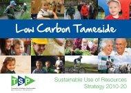 Low Carbon Tameside Strategy - Tameside Strategic Partnership