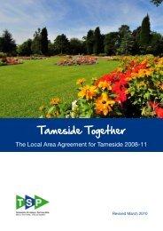 Tameside Together - Tameside Strategic Partnership