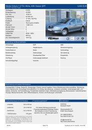 Skoda Octavia Combi Style 1.6 5.990 EUR - Erlenhoff