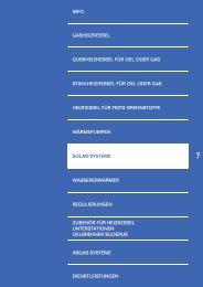 Projektplanung: Photovoltaik-Anlage mit ... - Buderus Heiztechnik AG