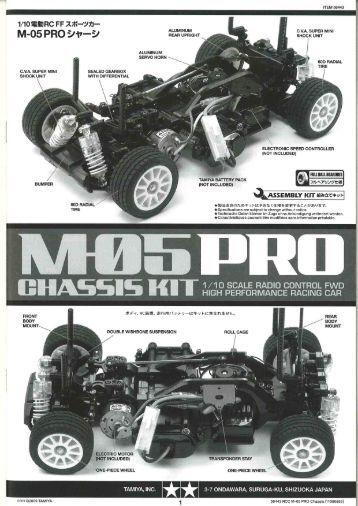 M-05 Pro - Tamiya