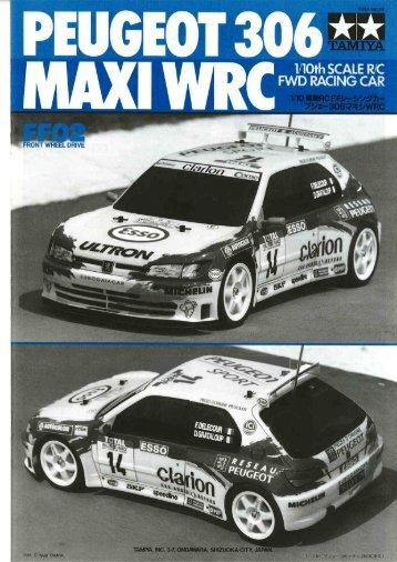 FF02 (Peugeot 306 Maxi Challenge WRC) - Tamiya