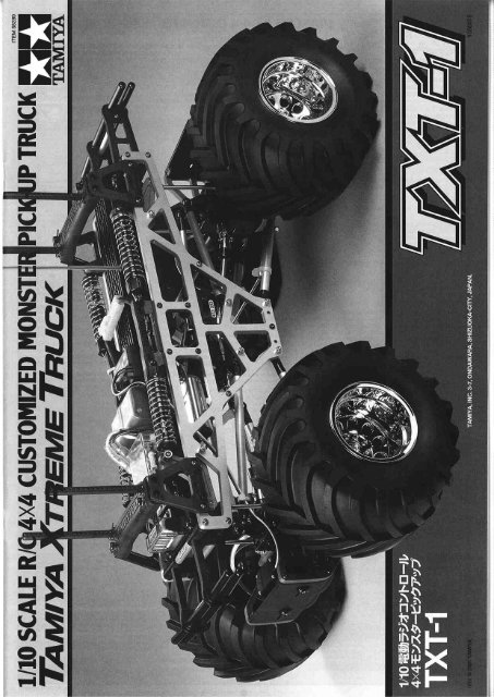 Page 1 Page 2 1/10 SCALE R/C 4X4 CUSTOMIZED MONSTER ...