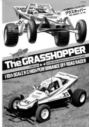 The Grasshopper - Tamiya