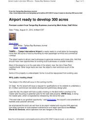 Airport ready to develop 300 acres