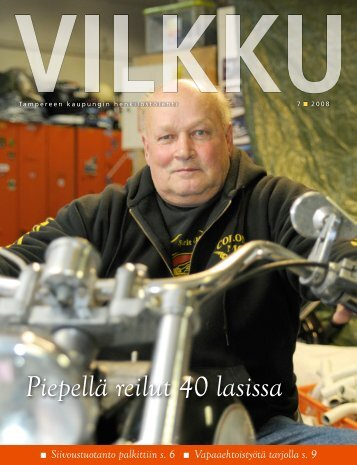 Piepellä reilut 40 lasissa - Tampereen kaupunki