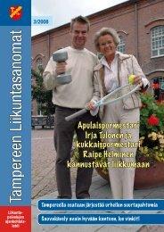 Tampereen Liikuntasanomat 3/2008