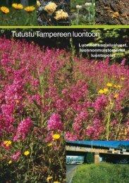 Tutustu Tampereen luontoon