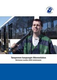 TKL:n vuosikertomus 2005 (pdf) - Tampereen kaupunki