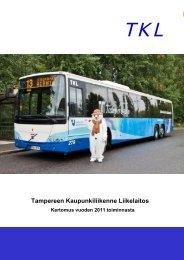 TKL:n vuosikertomus 2011 - Tampereen kaupunki