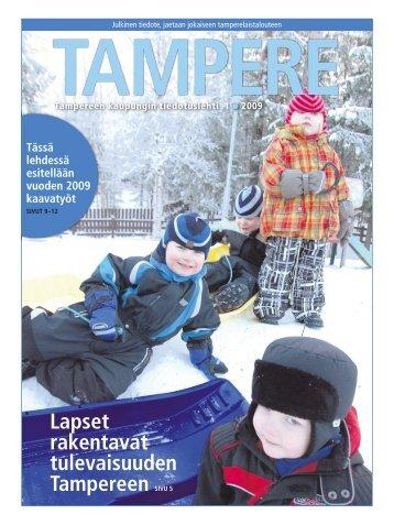 Tampere-lehti 1/2009 - Tampereen kaupunki