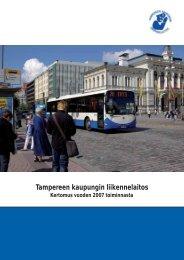 TKL:n vuosikertomus 2007 (pdf) - Tampereen kaupunki