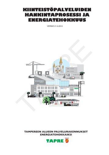 Kiinteistöpalveluiden hankintaprosessi ja energiatehokkuus