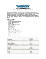 SP 17-50mm F/2.8 XR VC Di II LD Aspherical (IF) (B005) - Tamron