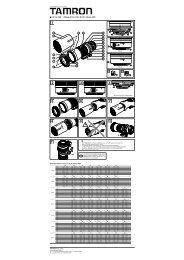 SP AF 200 ∼ 500mm F/5-6.3 Di LD [IF] (Model A08)
