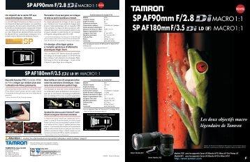 Catalogue 90mm F/2,8 (Model 272E) - Tamron Europe