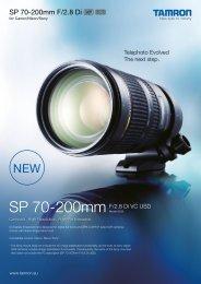 70-200mm Di F/2.8 VC USD - Tamron