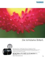 Katalog 60mm F/2,0 (Model G005) - Tamron