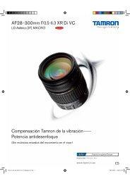 Catálogo 28-300mm F/3,5-6,3 VC (Model A20) - Tamron Europe