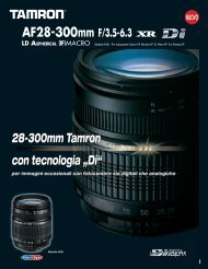 Catalogo 28-300mm F/3,5-6,3 (Model A061) - Tamron