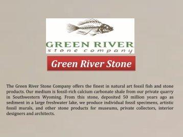 Green River Stone