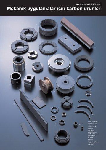 Mekanik Uygulamalar İçin Karbon Ürünler