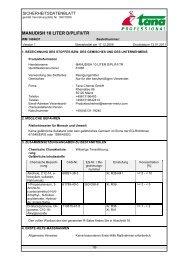 MANUDISH 10 LITER D/PL/F/I/TR - Green Care