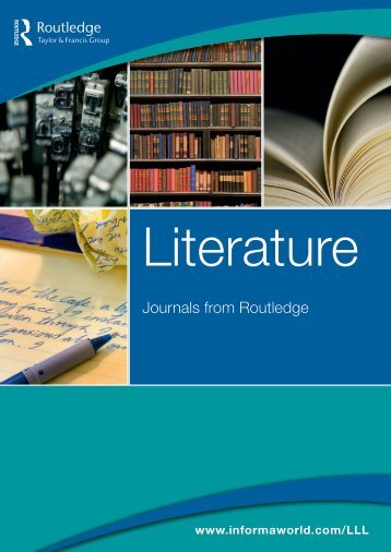 Journals from Routledge - Taylor & Francis