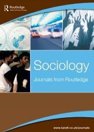 Sociology JRI 16-A4 v6 - Taylor & Francis