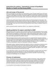 International Journal of Qualitative Studies in ... - Taylor & Francis
