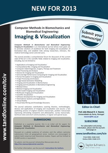 Imaging & Visualization