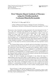 First Vilsmeier-Haack Synthesis of Flavones using - Taylor & Francis ...