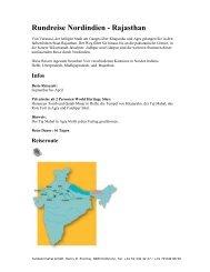 Rundreise Nordindien - Rajasthan