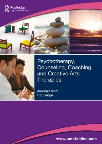 Psychotherapy, Counseling, Coaching and ... - Taylor & Francis
