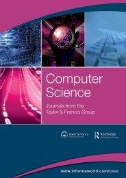 Computer Science Journals Catalogue - Taylor & Francis