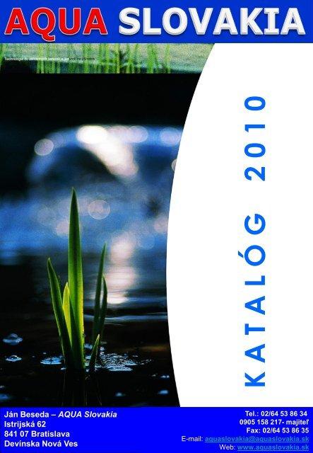 čerpadlá - Aqua Slovakia