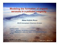 Modeling the formation of organic aerosols in a polluted megacity