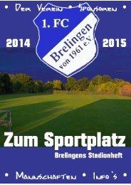 Zum Sportplatz - Brelingens Stadionheft