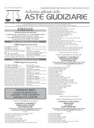 Scarica il Bollettino n° 39 del 10/11/2010 - ISVEG Istituto Vendite ...