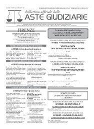 Scarica il Bollettino n° 10 del 11/03/2009 - ISVEG Istituto Vendite ...