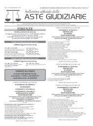 Scarica il Bollettino n° 34 del 06/10/2010 - ISVEG Istituto Vendite ...