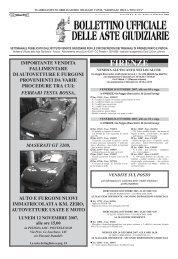 Scarica il Bollettino n° 37 del 13/10/2007 - ISVEG Istituto Vendite ...