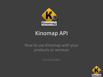 Kinomap API