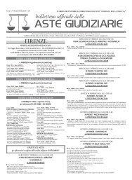 Scarica il Bollettino n° 05 del 10/02/2010 - ISVEG Istituto Vendite ...