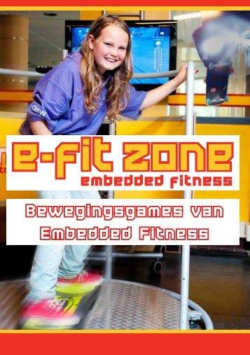 Brochure E-fit Apparaten (PDF) - Embedded fitness