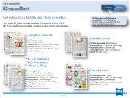 Gesundheit - Nordwest-Zeitung