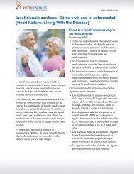 Insuficiencia cardíaca: Cómo vivir con la enfermedad ... - CardioSmart