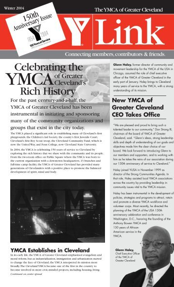 Winter 2004 - the YMCA of Greater Cleveland