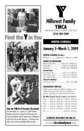 Hillcrest Family YMCA - the YMCA of Greater Cleveland