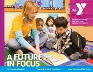 2012 Annual Report - the YMCA of Greater Cleveland